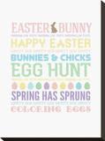 Easter Subway I Tableau sur toile par Pamela Fogul