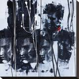 Silhouettes IV Tableau sur toile par C Diora