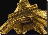 Tour Eiffel La Nuit Paris Tableau sur toile par AJ Messier