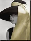 Audrey Hepburn-Hat Tableau sur toile