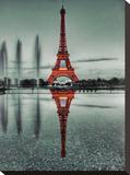 Twilight In Paris Tableau sur toile par AJ Messier