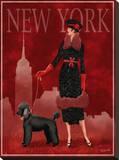 New York Tableau sur toile par Tom Wood