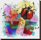 Lady Bug Love II Tableau sur toile par Bui Khiet