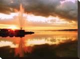 Barrie Fountain Tableau sur toile par John Bartosik