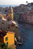 Europe  Italy  Vernazza Cinque Terre Town of Vernazza  Italy