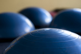 Still Life of Gym Exercise Ball