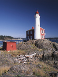 Fisgard Lighthouse  Fort Rodd  Victoria  British Columbia  Canada