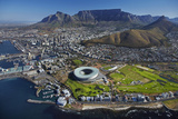 Aerial of Stadium  Golf Club  Table Mountain  Cape Town  South Africa