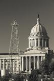 Oklahoma State Capitol Building  Oklahoma City  Oklahoma  USA