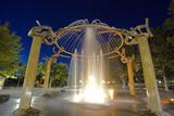 Rotary Fountain  Riverfront Park  Spokane  Washington  USA