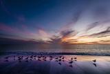 Sunset on Anna Marie Island on Florida's Gulf Coast Florida  USA