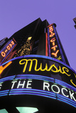Christmas  Radio City Music Hall  Manhattan  New York  USA