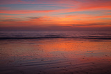 Sunrise on the Beach at Jekyll Island  Georgia  USA