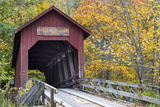 Bean Blossom Covered Bridge in Brown County  Indiana  USA