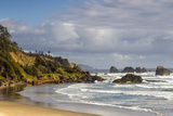 Indian Beach at Ecola State Park in Cannon Beach  Oregon  USA