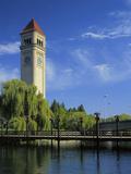 Great Northern Clock Tower  Riverfront Park  Spokane  Washington  USA