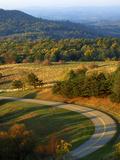 The Blue Ridge Parkway  Patrick County  Virginia  USA