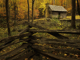 Cole Cabin  Great Smoky Mountains National Park  Tennessee  USA