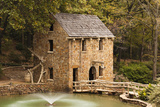 The Old Mill, Gone with the Wind, Little Rock, Arkansas, USA Papier Photo par Walter Bibikow