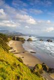 Crescent Beach at Ecola State Park in Cannon Beach  Oregon  USA