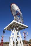 Vintage Farm Windmills  Elk City  Oklahoma  USA