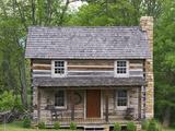 Log Cabin  New Castle  Virginia  USA