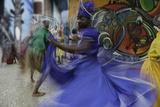 Cuban Dancer in Motion  Callejon De Hamel  Cuba