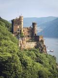 Castle Rheinstein  Rhineland-Pfalz  Germany