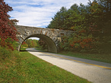 The Blue Ridge Parkway  Virginia  USA