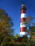 Assateague Lighthouse  Assateague Island  Virginia  USA