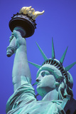 Close-Up of the Statue of Liberty  New York  USA