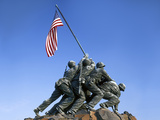 Iwo Jima Memorial  Arlington  Virginia  USA