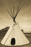 Native American Teepee  Grand Island  Nebraska  USA