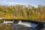 Oswego Canal at Minetto  Lock 5 Spillway  New York  USA