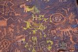 Petroglyphs  V Bar V Heritage Site  Arizona  USA