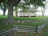 The Ray House  Wilson's Creek National Battlefield  Missouri  USA