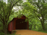 Sandy Creek Covered Bridge  Jefferson County  Missouri  USA