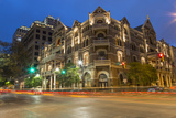 The Historic Driskell Hotel at Dusk  Austin  Texas  USA