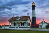 Tybee Light House at Sunset  Tybee Island  Georgia  USA
