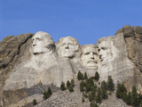 Mount Rushmore National Monument  Keystone  South Dakota  USA