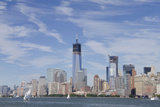 Manhattan City Skyline  New York  New York  USA