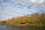 Fall Views Along the Oswego Canal  New York  USA