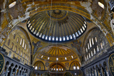 Interior of Grand Haghia Sophia  Istanbul  Turkey
