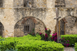 Mission San Jose in San Antonio  Texas  USA