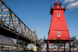 Southwest Reef Lighthouse  Atchafalaya Basin  Louisiana  USA