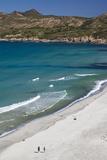 Elevated View of Plage De Ostriconi  Le Nebbio  Corsica  France
