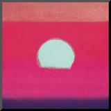 Sunset, c.1972 40/40 (fuchsia) Reproduction montée par Andy Warhol