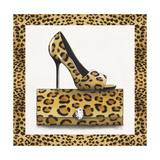 Leopard Shoe and Purse