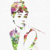 Audrey Hepburn 2 Reproduction d'art par NaxArt