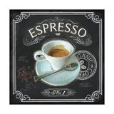 Coffee House Espresso Reproduction d'art par Chad Barrett